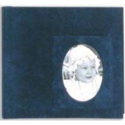 Αλμπουμ Γαμου Βελουδο Ριζοχαρτο Μπλε 31X34Cm 50 Έγχρωμα Φύλλα 12009