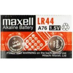 Μπαταρίες LR44 αλκαλικές 2 τεμάχια Maxell