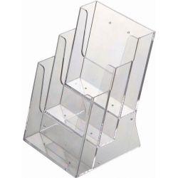Σταντ ακρυλικό για έντυπα 3x Α5 161x163x220χιλ. Next 15761