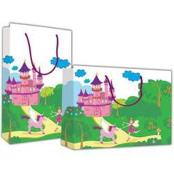 Χάρτινη τσάντα Υ40x46x14 Παλάτι με νεράιδα 12 τεμάχια Next 23394