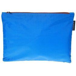 Τσαντάκι με φερμουάρ Α4 Γαλάζιο 34x24.5εκ. Comix 17494-15