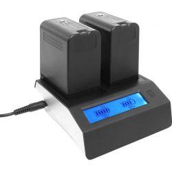 Διπλός Φορτιστής Μπαταριών NP-F  LUM DCHNP-F Luminus