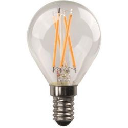 Λαμπα Led Σφαιρικη Crossed Filament 6.5W E14 4000K 220-240V Eurolamp 147-78212