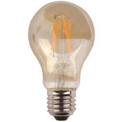 Λαμπα Κοινη Led Crossed Filament 7W E27 2400K 220-240V Gold Glass Dimmable Eurolamp 147-81801