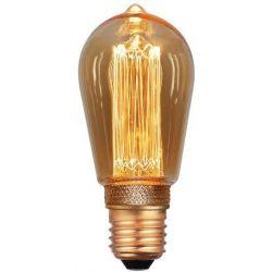 Λαμπα Led St64 3.5W E27 2000K 220-240V Gold Dimmable Eurolamp 147-81826