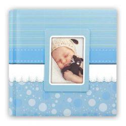 Αλμπουμ Βάπτισης CINZIA 31X31cm30 φύλλα Μπλε