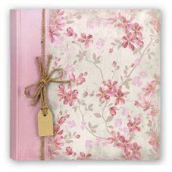 Αλμπουμ GARDEN24x24cm 20 φύλλων Ροζ