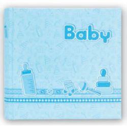 Αλμπουμ Βάπτισης BEBE24x24cm20 φυλλων Μπλε