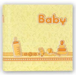 Αλμπουμ Βάπτισης BEBE24x24cm20 φυλλων Κίτρινο
