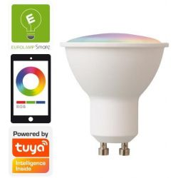 Λαμπα Led Smart Wifi Gu10 6W Rgbw 220-240V Eurolamp 147-77903