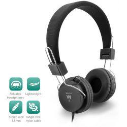 Headphone 1X 3.5Mm Jack. 1.5M. With Soft Ear And Foldable Headband EW3573 INTRONICS