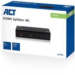 Splitter Hdmi 4 Port 4K(3840 X 2160@ 30 Hz) AC7830 INTRONICS