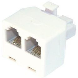 Splitter  Τηλεφωνικο 1M 2F 6P 4C 174122