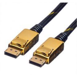 Καλωδιο Display Port 3M Gold Plated(4K) 11.04.5646-10 Roline