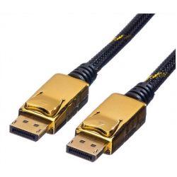 Καλωδιο Display Port 5M Gold Plated(4K) 11.04.5647-5 Roline