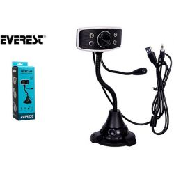 Webcam With Microphone 480P Sc-825 34511 EVEREST