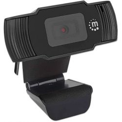 Webcam With Microphone 2 Mpixels 1080P/30 Fps Full Hd 462006 Manhattan