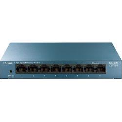 Switch 8 Port Gigabit  Metal Case LS108G Tp-Link