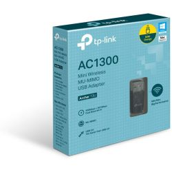 Ασυρματo Usbmini Wireless Mu-Mimo Ac1300 ArcherT3U Tp-Link