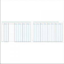Βιβλιο Διαφορων Πραξεων 24στηλες 30x43 50 Φυλλων