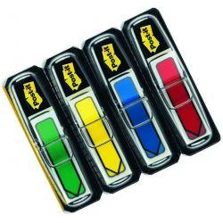 Σελιδοδεικτες Film Βελακια 4χρωματα X 24 Φυλλα Κλασσικα Χρωματα Post It 3μ