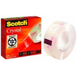 Κολλητικη Ταινια 3m Crystal Clear 19mmx33m Νο600