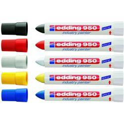Μαρκαδορος Κραγιον 950 Ανεξιτηλοσ/αδιαβροχος 10 Τεμαχια Edding