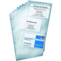Ζελατινες Business Cards Για Ευρετηριο Τηλεφωνου 6 Καρτων Σετ 10 Τεμαχια Sigel So132