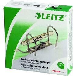 Ροδελες Αυτοκολλητες Διαφανες Για Κλασερ Pp 500 Τεμαχια Leitz