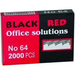 Συρματα Συρραπτικης Νο64 2000 Τεμαχια Black-red Οικονομικη Λυση