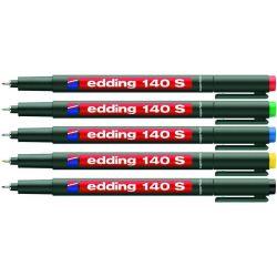 Μαρκαδορος Διαφανειων Edding  S 0.3μμ