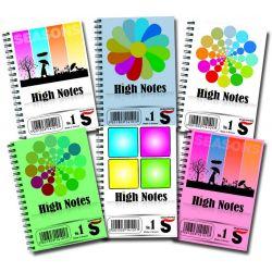 Σημειωματαριο High Notes Νο2 90x127mm 60 Φυλλα Skag