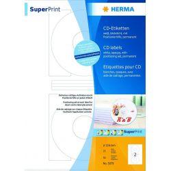 Ετικετες Cd Inkjet. Laser. Copy 100φ/200τεμ Herma