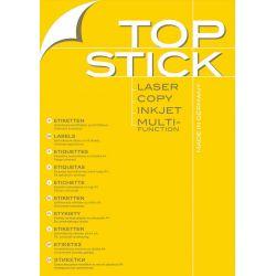 Ετικετες Inkjet. Laser. Copy 105x48 100φυλ/1200τεμ Topstick (οικονομικεσ)