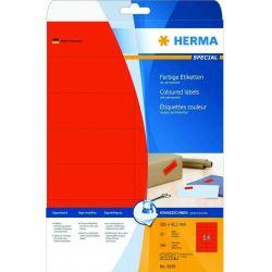 Ετικετες Κοκκινες Inkjet. Laser. Copy 105x42.3 25φυλ/280τεμ Herma