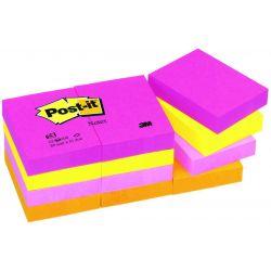 Post It 653 38x51mm Rainbow Tutti Frutti 12τεμ 3μ