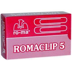 Συνδετηρες Νο5 100 Τεμαχια Romaclip Maestri