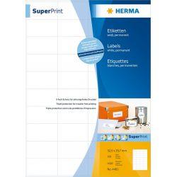 Ετικετες Inkjet. Laser. Copy 48.3x16.9 100 Φυλλα/6400 Τεμαχια Super Herma