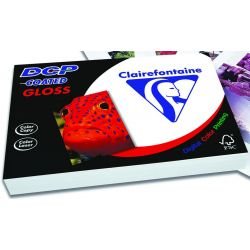 Χαρτι Laser Α4 200gr 250 Φυλλα Gloss Coated Double Side Clairefontaine
