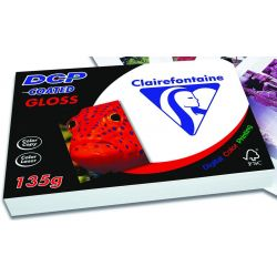 Χαρτι Laser Α3 135gr 250 Φυλλα Gloss Coated Double Side Clairefontaine