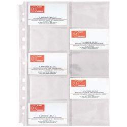 Ζελατινες Για Business Cards Α4 20 Καρτων Pvc