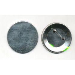 Κονκάρδα Καρφίτσα Στρογγυλή 37mm 100 τεμάχια