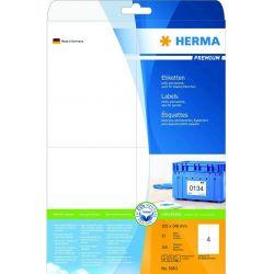 Ετικετες Inkjet. Laser. Copy 105x148 25φυλ/100τεμ Super Herma