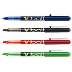 Στυλο Roller Υγρης Μελανης Pilot V-ball 0.5mm