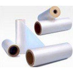 Ψυχρή Πλαστικοποίηση Υφή Καμβά Pressure Sensitive Solvent Acrylic Glue  125mic