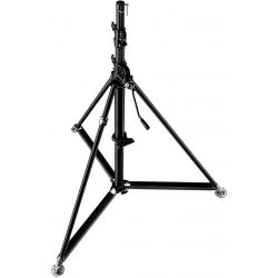 387XBU Black Stainless Steel Super Wind Up Stand 3.66m Manfrotto