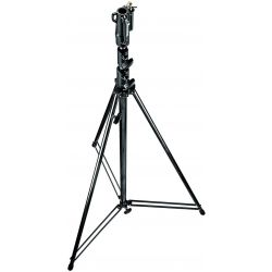 111BSU Black Tall Tall 3-Sections Stand 1 Levelling Leg 380cm Manfrotto