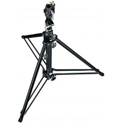 070BU Black Aluminium Follow Spot Stand 1.47m Manfrotto