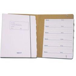 Κουτί Ζ με λάστιχο και 12 θήκες 03780 NEXT