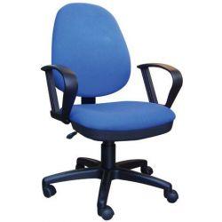 Καρέκλα τροχήλατη μπλε ψηλή πλάτη 13801-03 Welltrust